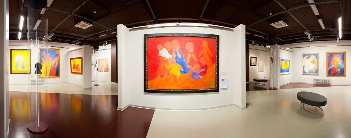 Экспозиция галереи современного искусства Эрарта