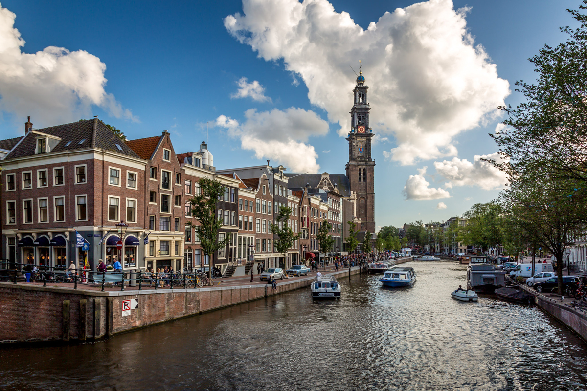 Вид на Вестеркерк, Амстердам