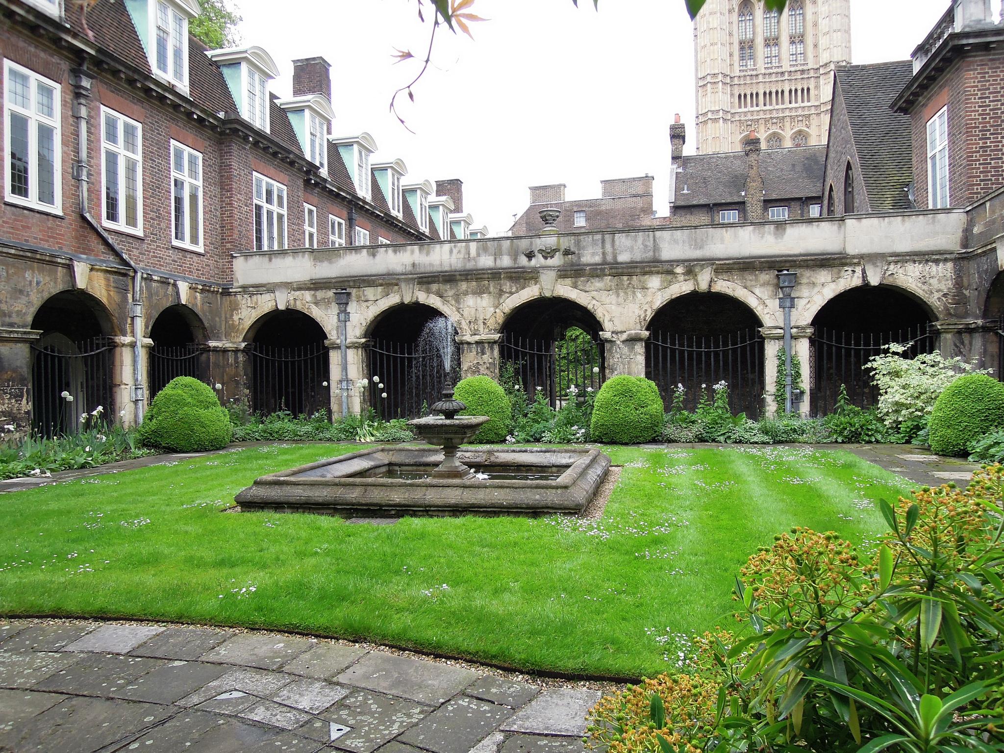 Внутренний двор, Вестминстерское аббатство, Лондон