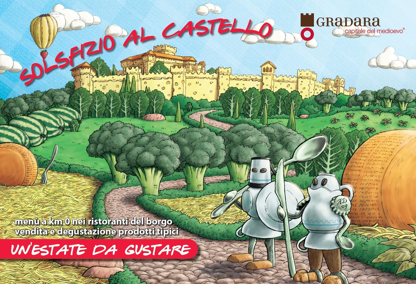 Логотип праздника Solsfizio al Castello