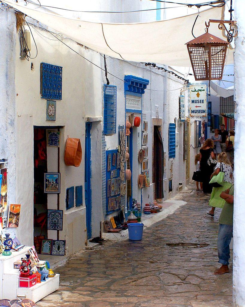 Медина Хаммамета, базар