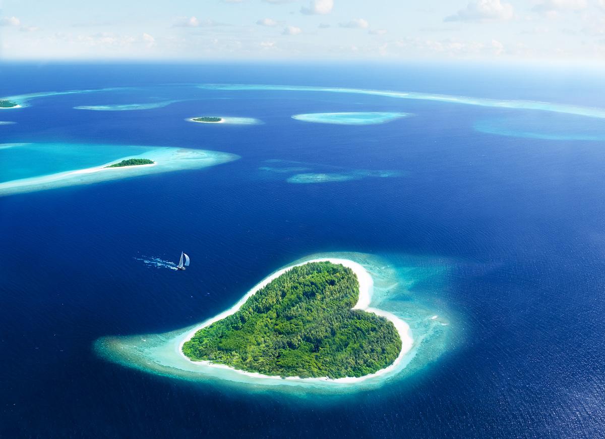 острова мальдивы фото