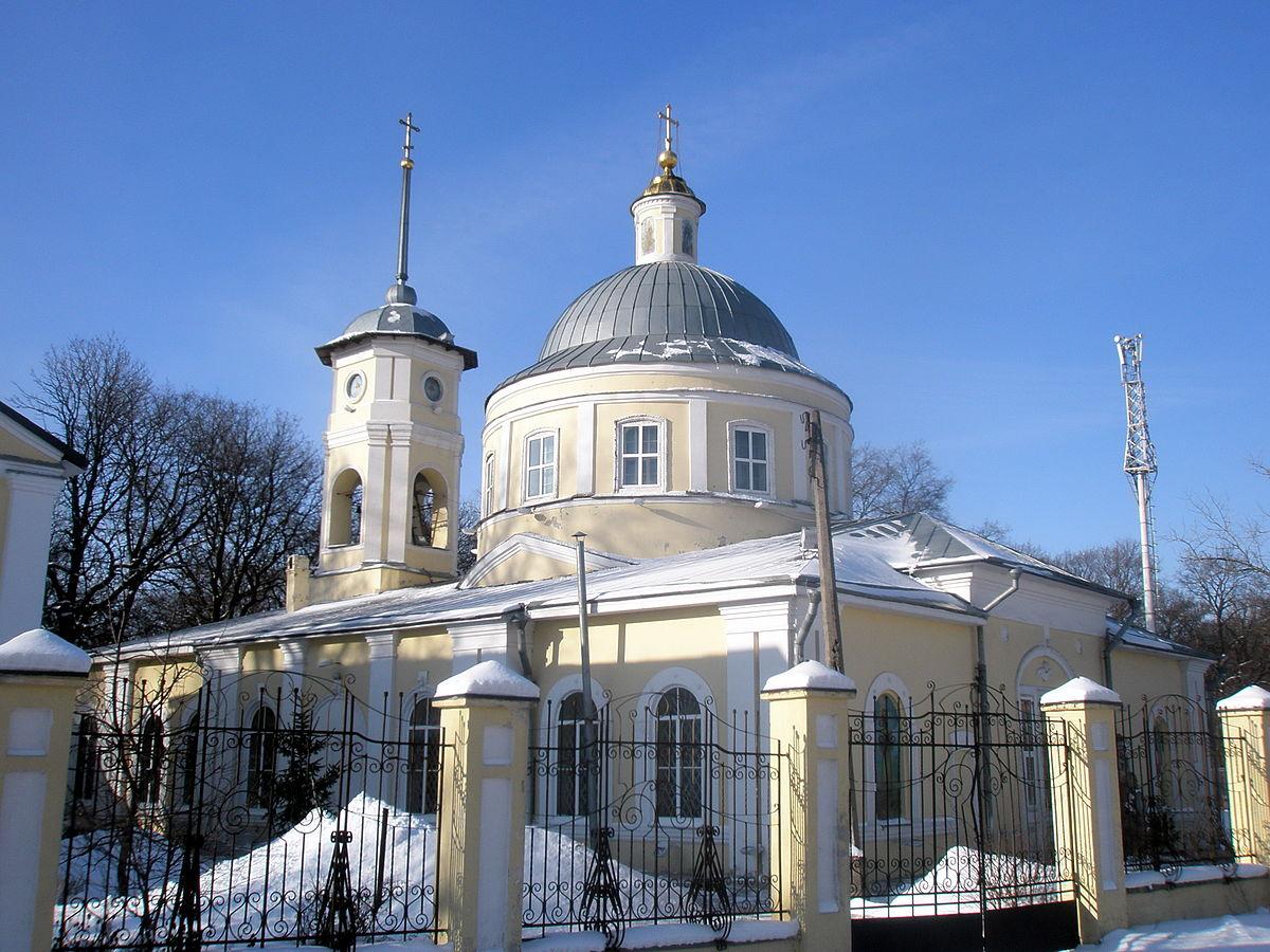 Храм Всех Святых в Курске