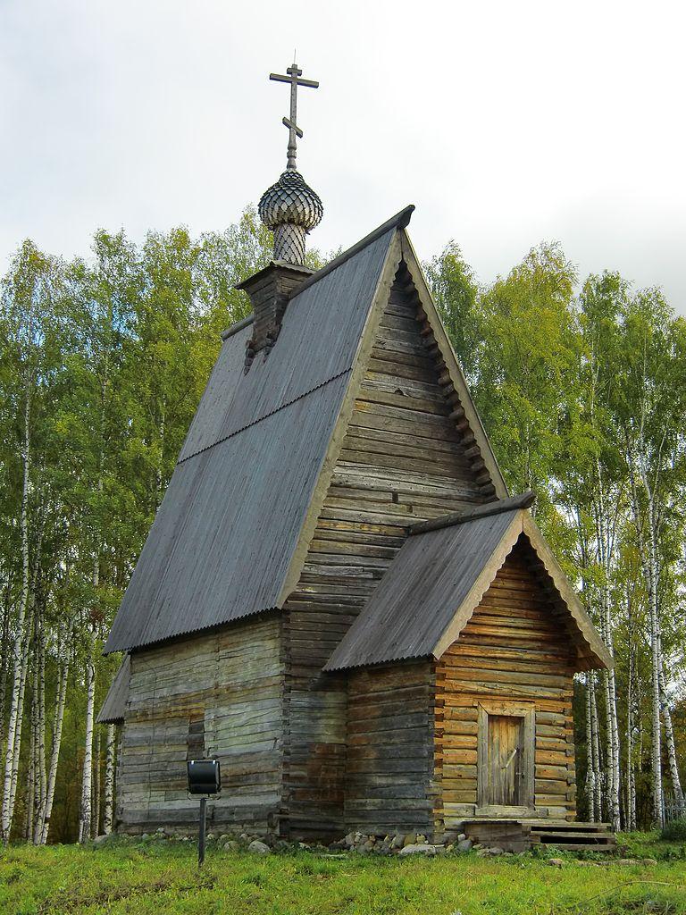 Воскресенская деревянная церковь, Плес