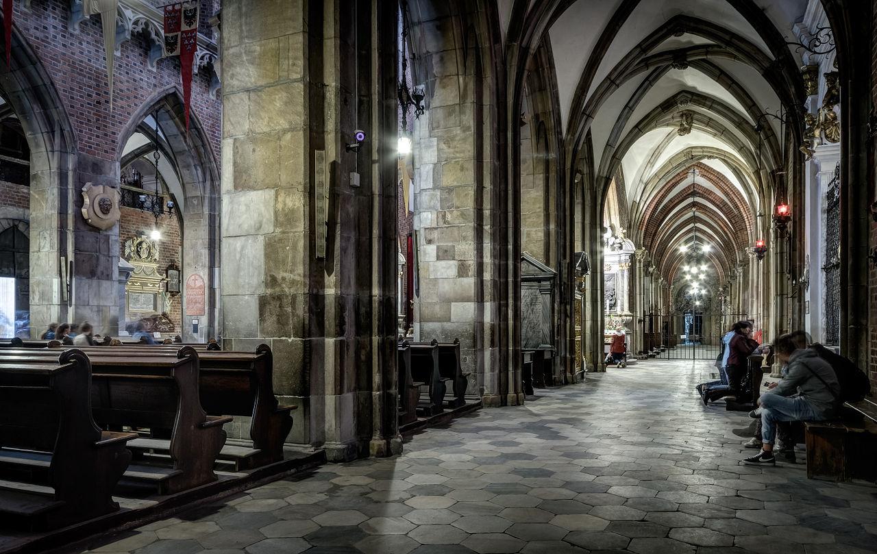 Вроцлавский собор, интерьер