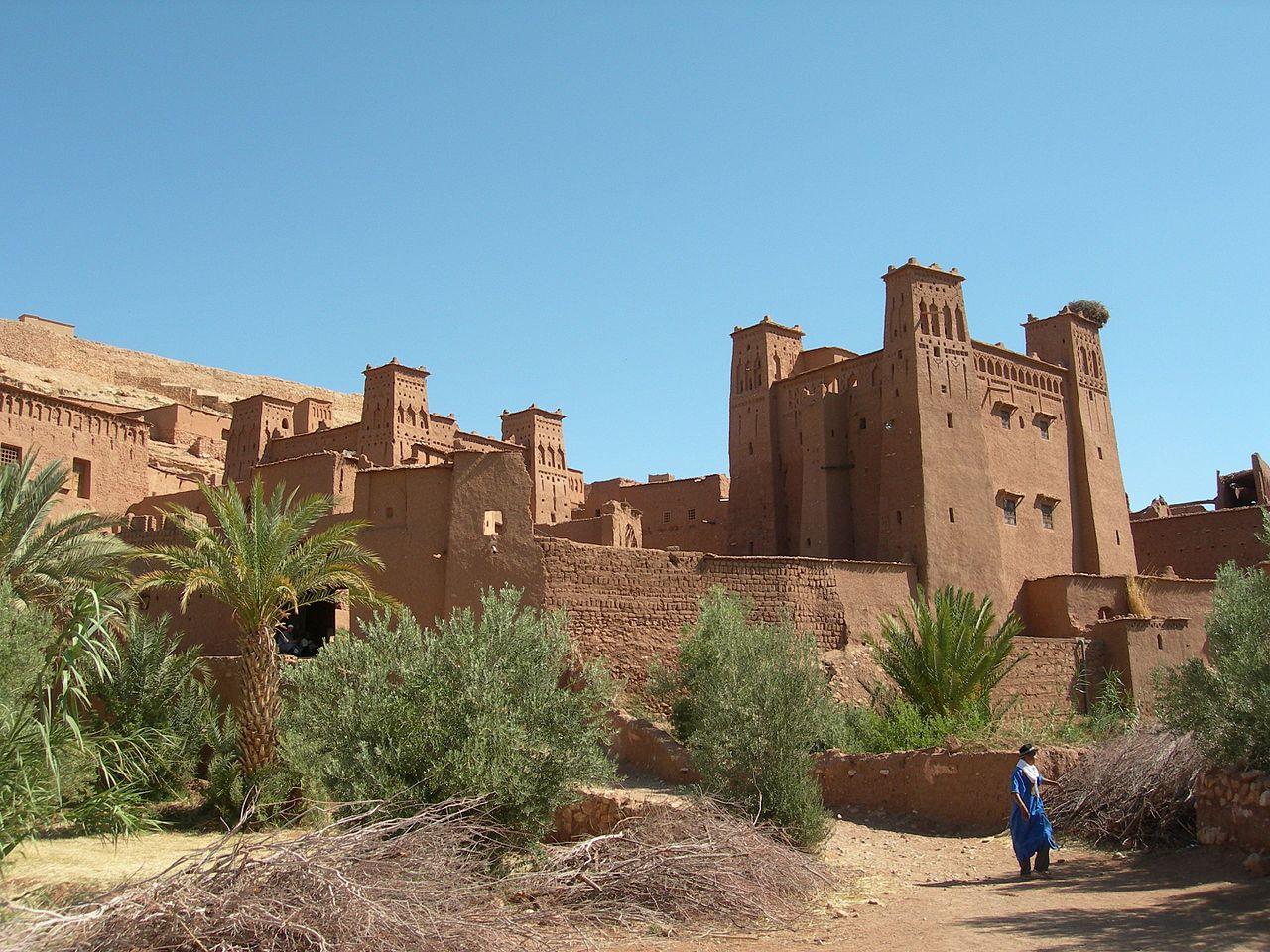 Айт-Бен-Хадду, пример традиционной марокканской глинобитной архитектуры
