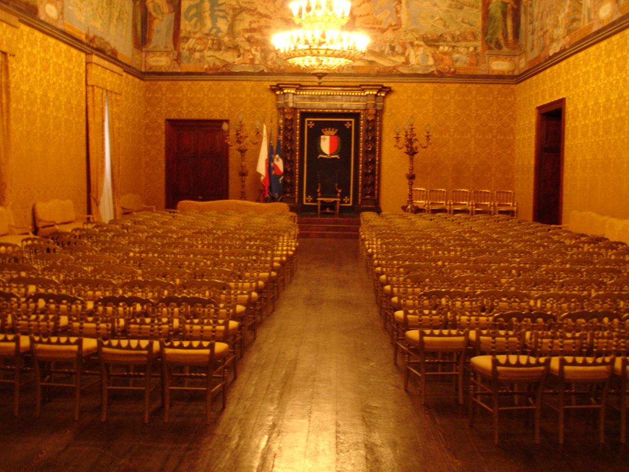 Дворец Великого магистра, зал Верховного совета
