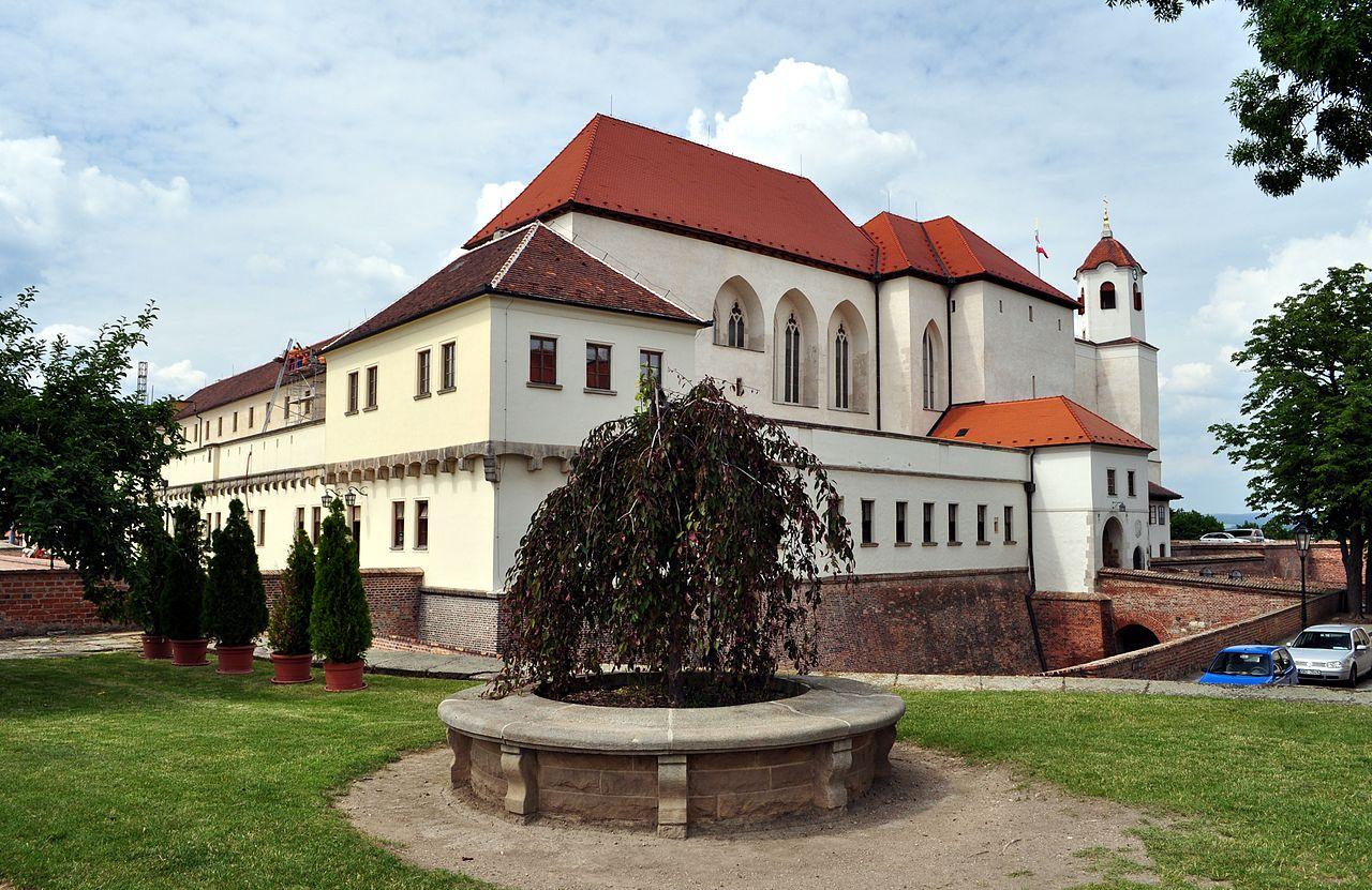Замок Шпильберг в городе Брно
