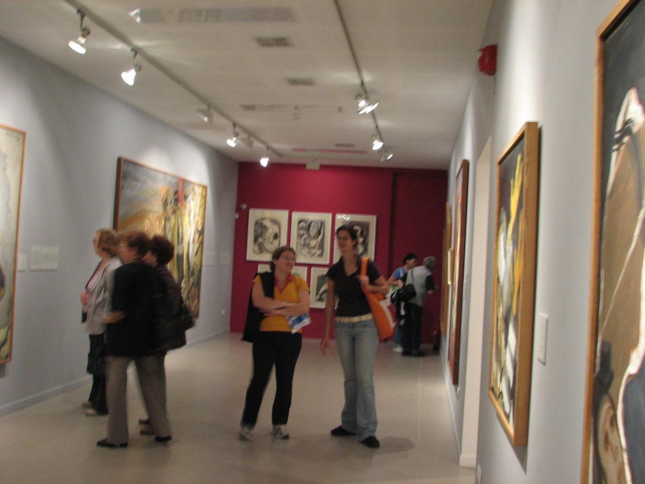 Музей Мане Каца, экспозиция