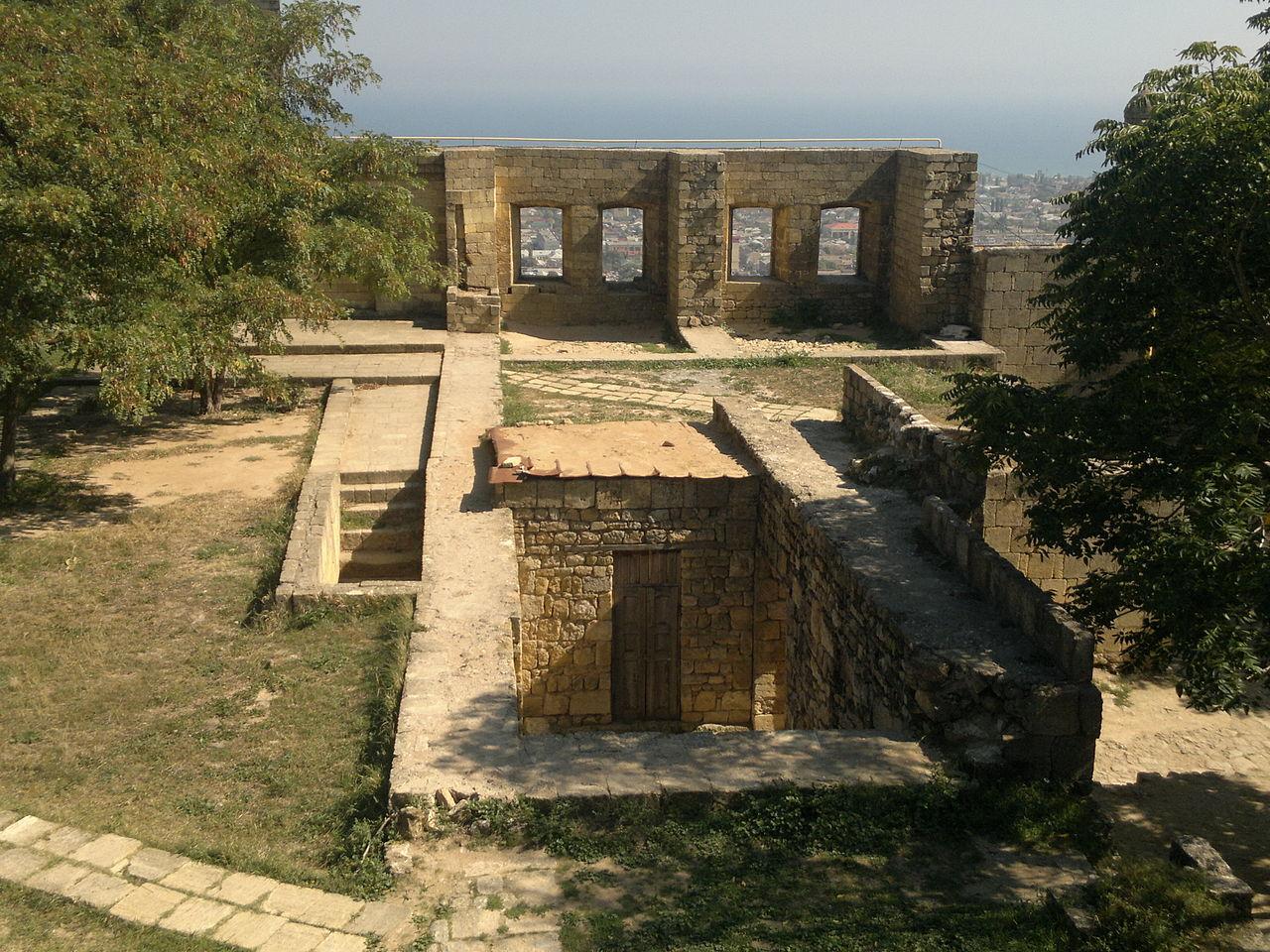 Центр Дербентской крепости Нарын-Кала