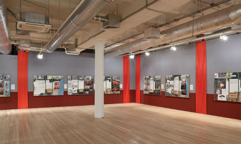 Выставочные залы галереи Red October