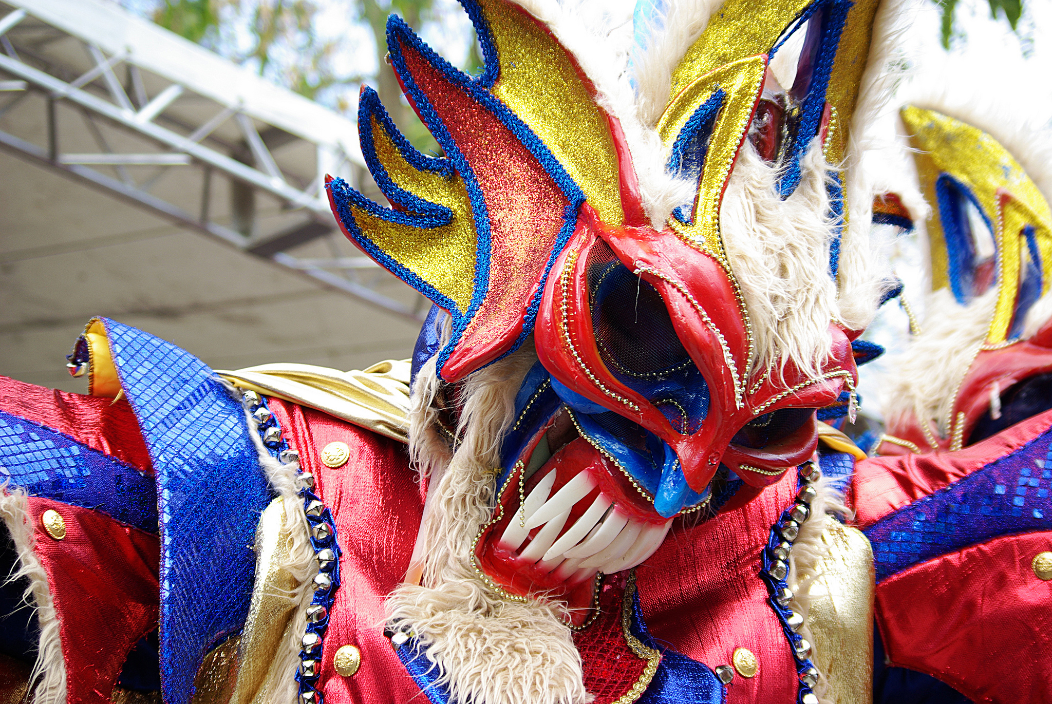 Главный участник карнавала в Доминикане