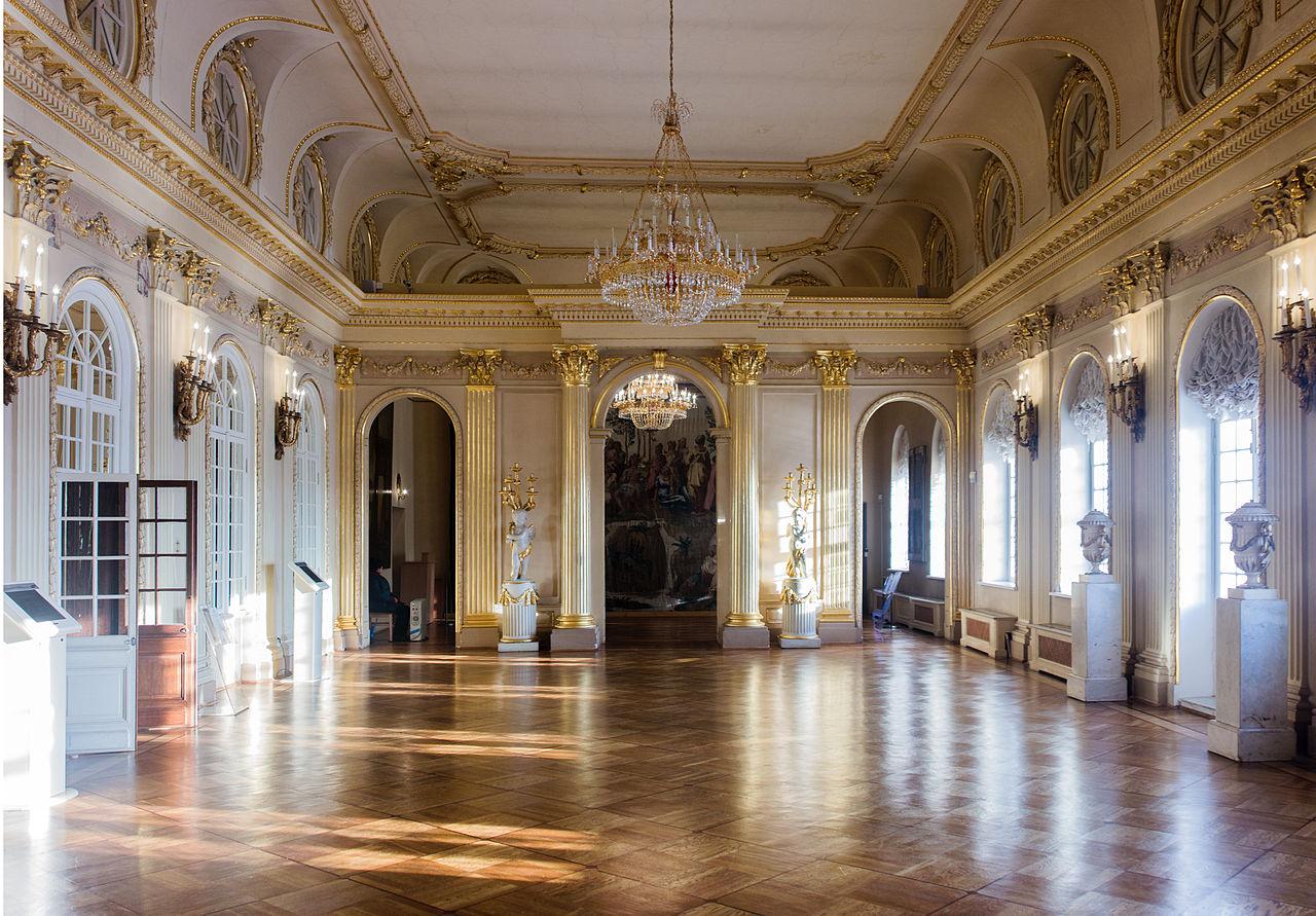 Дворец Меншикова, парадный зал