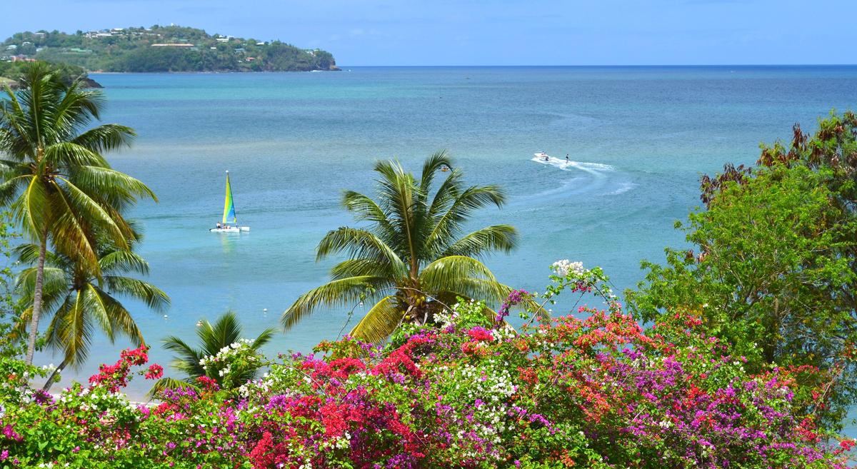 Карибские острова на катамаране