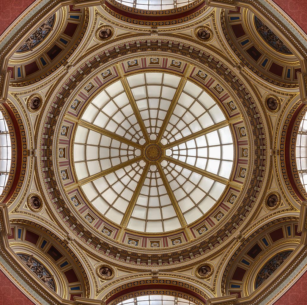 Национальная галерея в Лондоне, потолок одного из залов