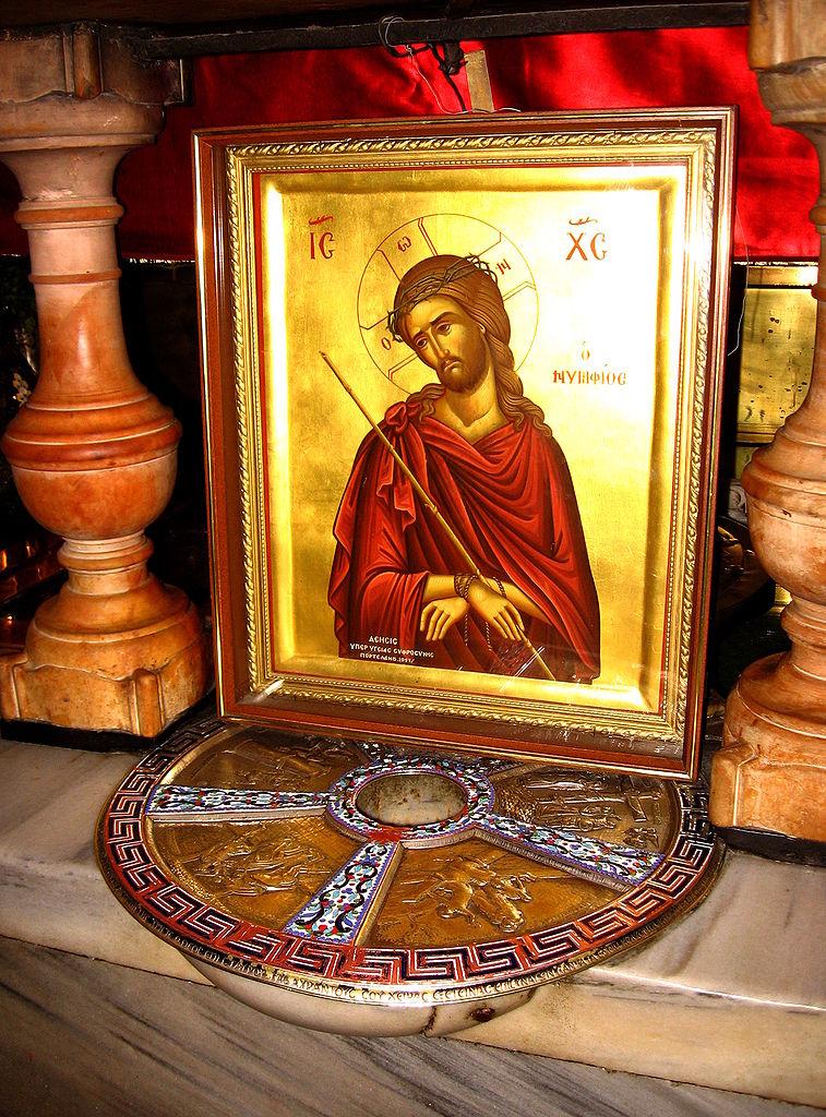 Храм Гроба Господня, место распятия Иисуса Христа