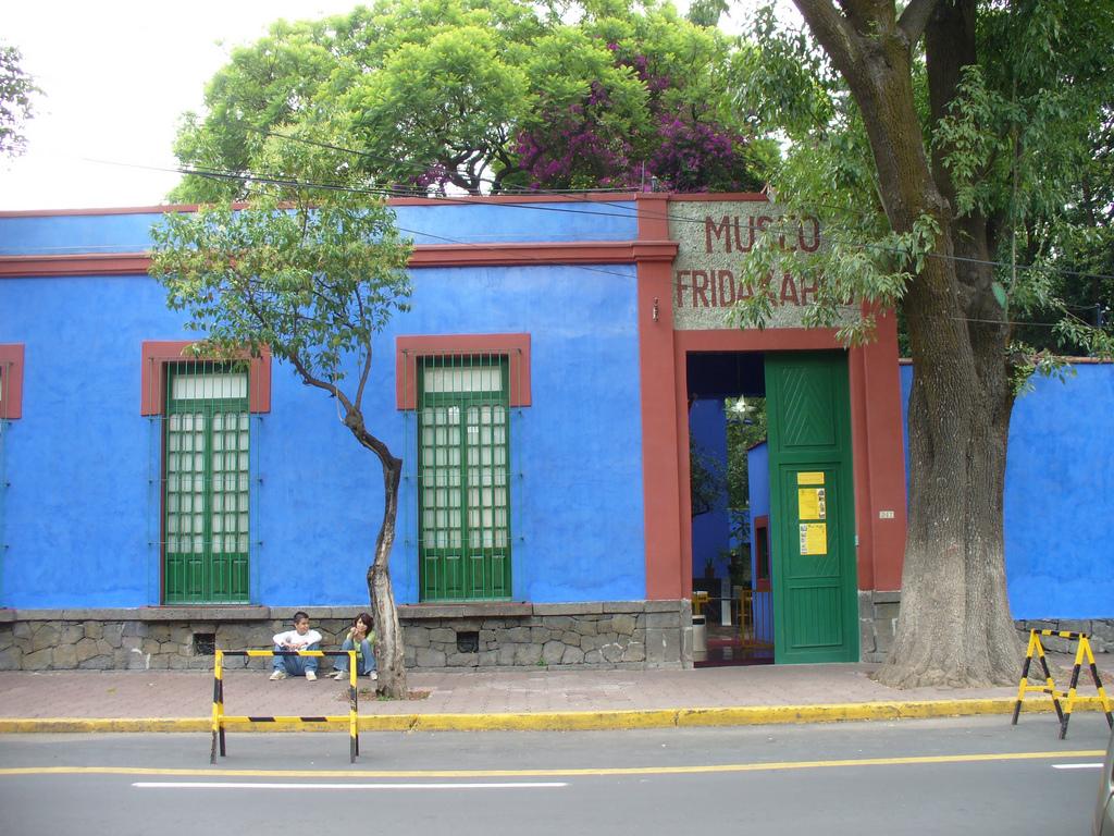 Дом-музей Фриды Кало, вход