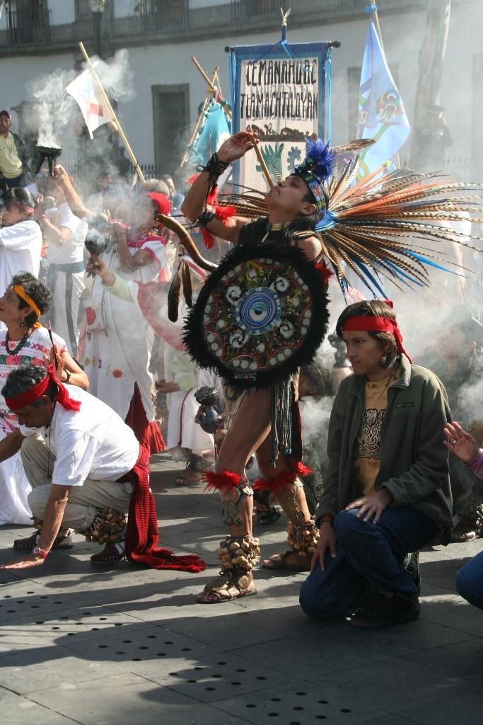 Индейский языческий обряд