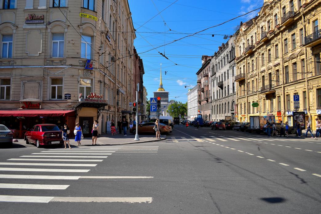 Малая Морская улица, Санкт Петербург