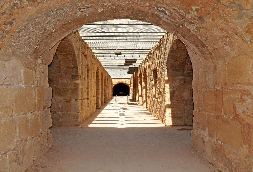Коридор, Колизей в Эль-Джеме
