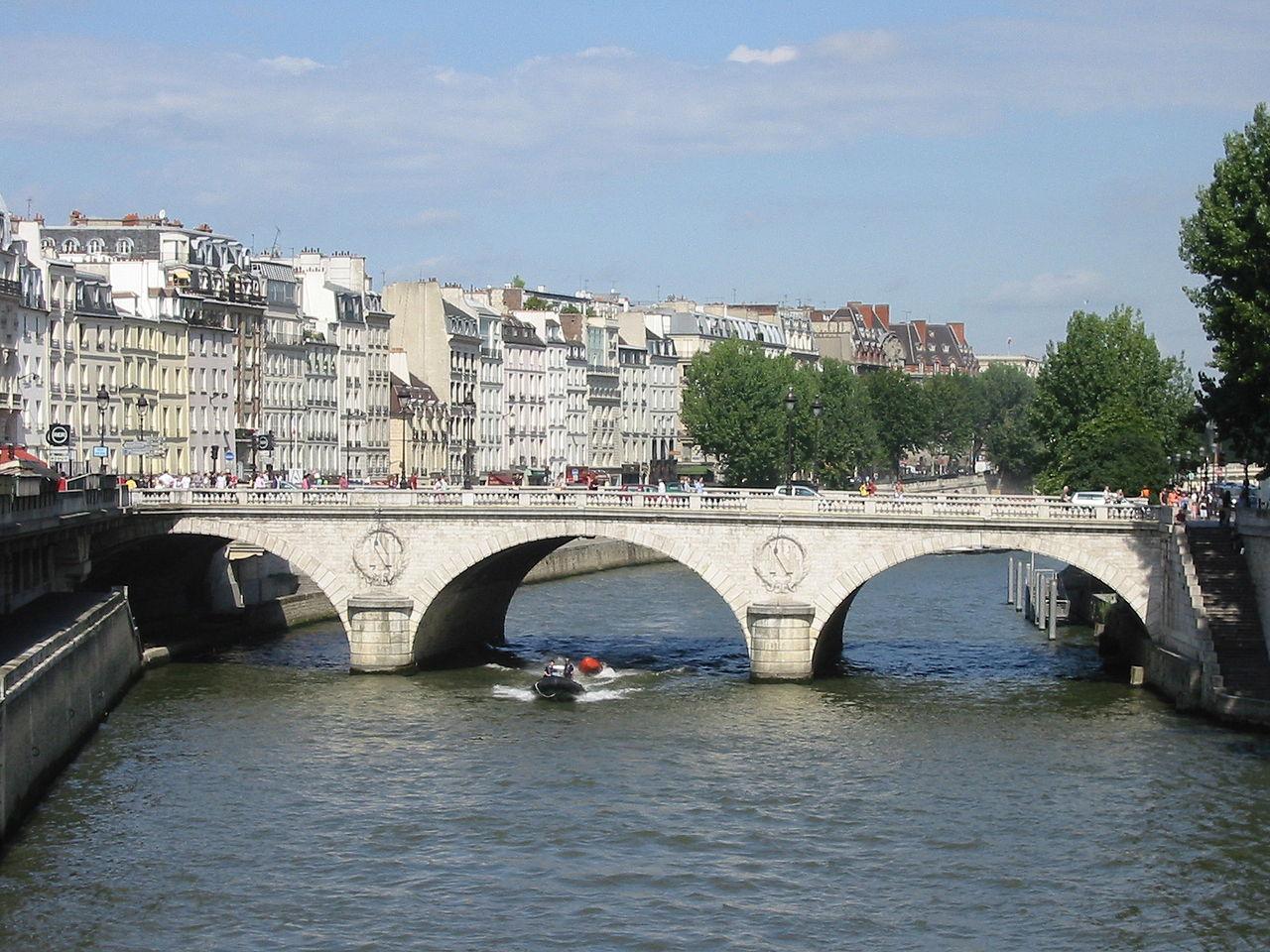 Остров Сите, мост Сен-Мишель