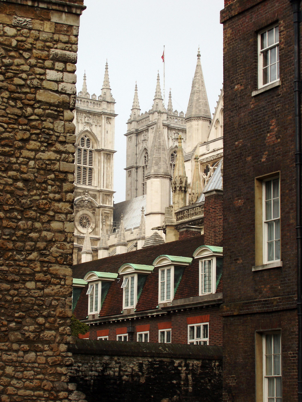 Вид на Вестминстерское аббатство, Лондон