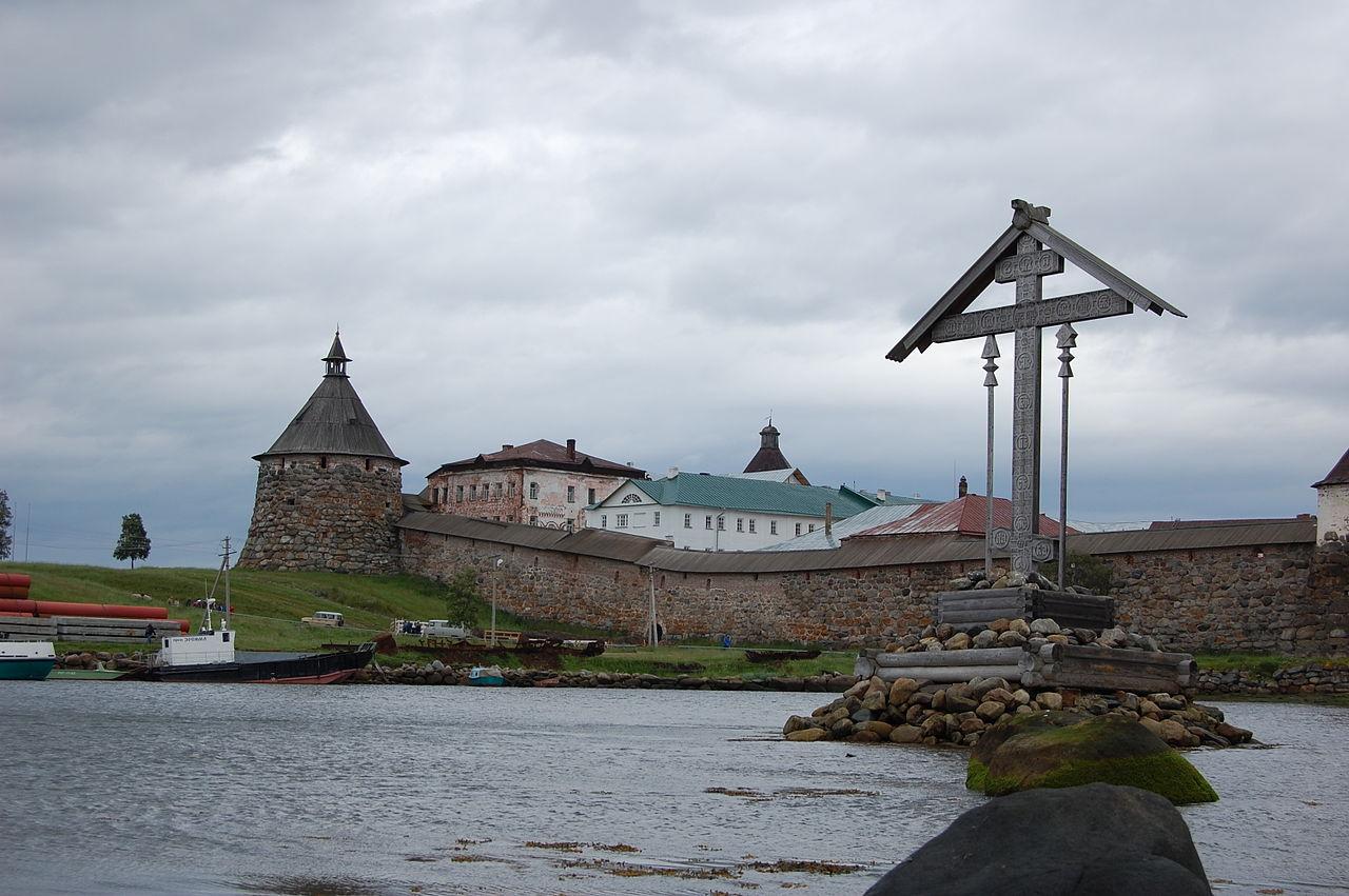 Корожная башня Соловецкого кремля
