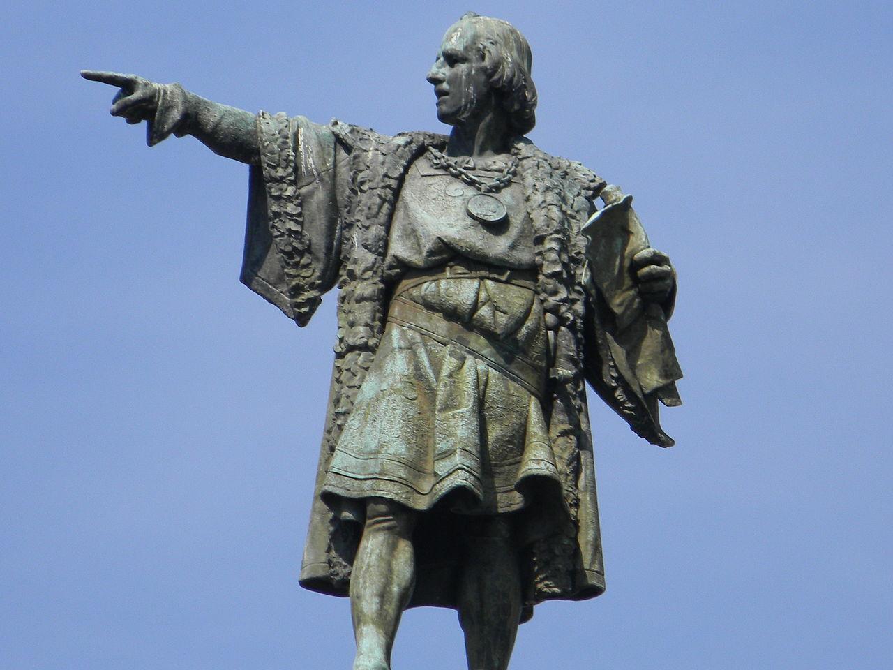 Монумент Колумбу в Барселоне, верхняя часть