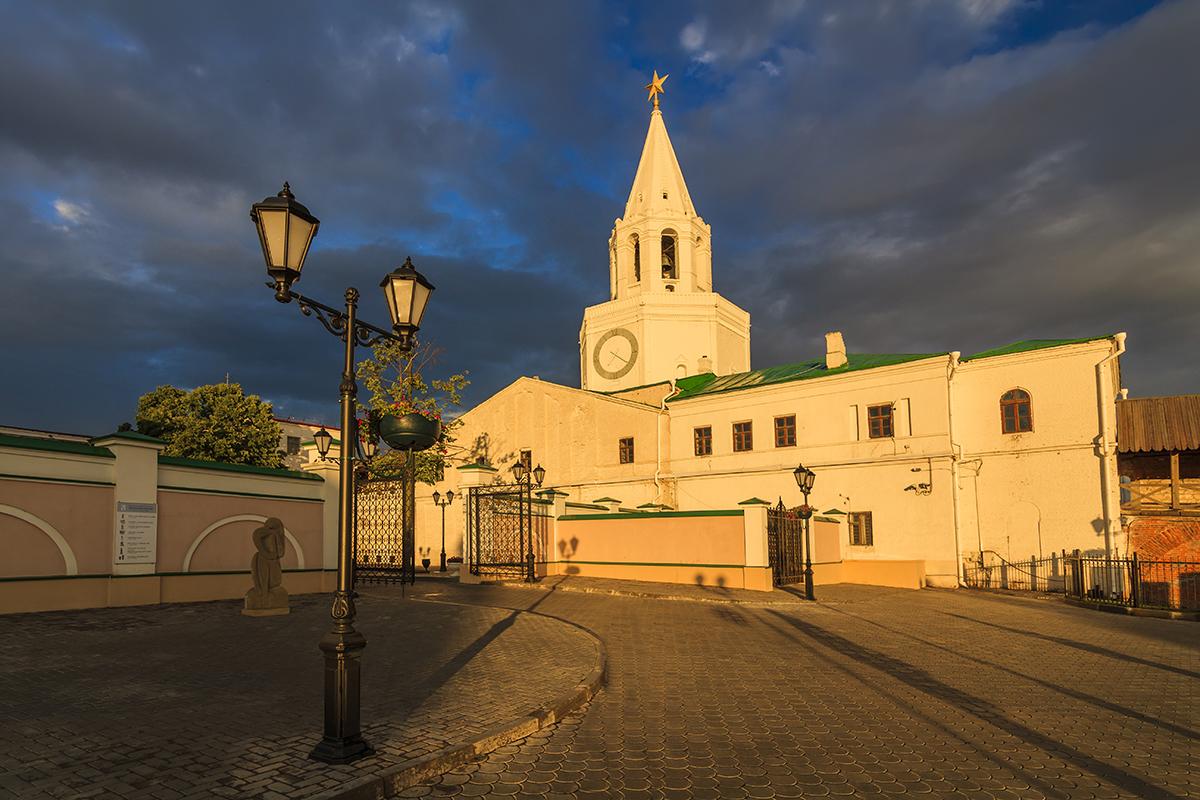 Спасская Башня. Казанский кремль