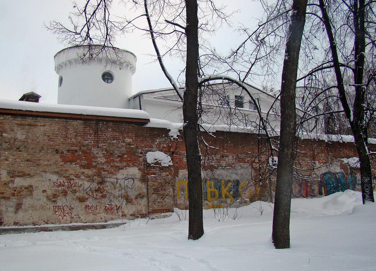 Нижегородский острог, вид из сквера