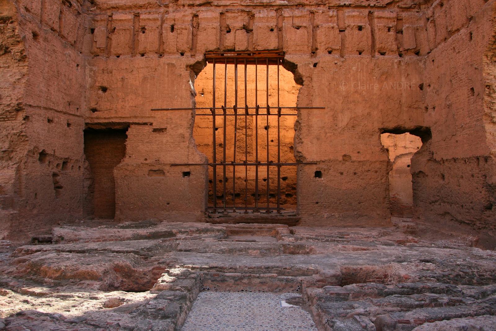 Руины дворца Эль-Бади