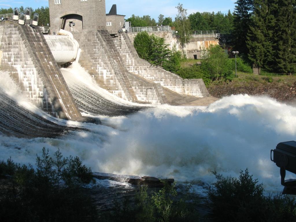 Финляндия, водоскат Иматранкоски