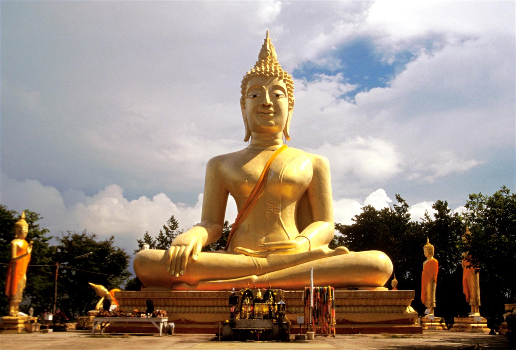 Большой Будда в Паттайе, Таиланд