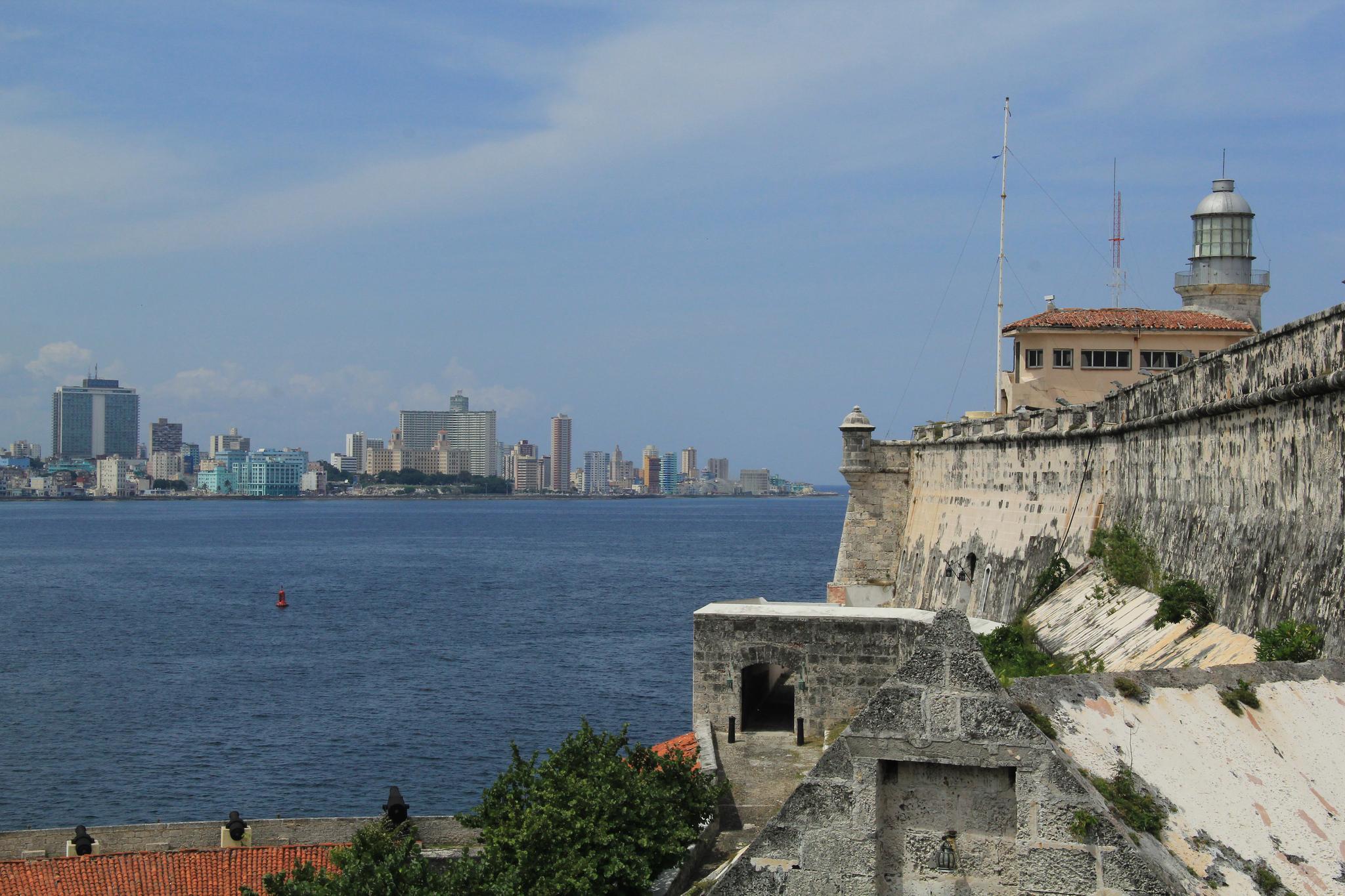 Крепость Ла-Кабанья, вид на Гавану