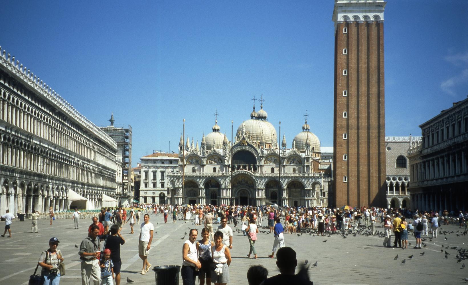 Площадь Сан-Марко, вид на собор св. Марка