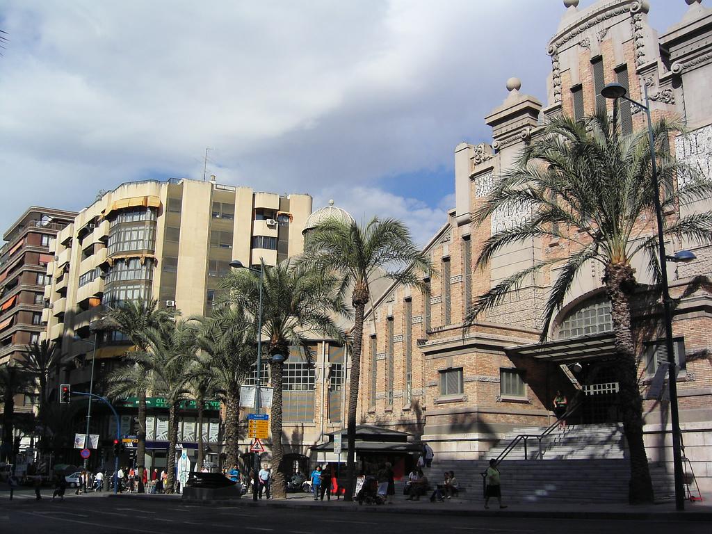 Центральный рынок Аликанте