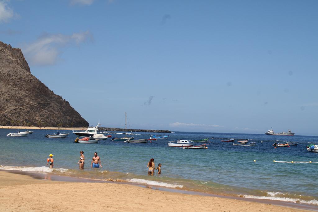 Лас-Тереситас, один из самых популярных пляжей на Тенерифе