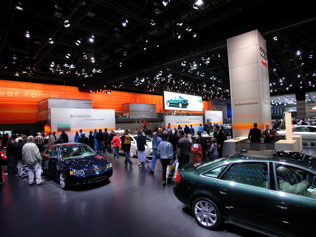 Международное автомобильное шоу в Детройте