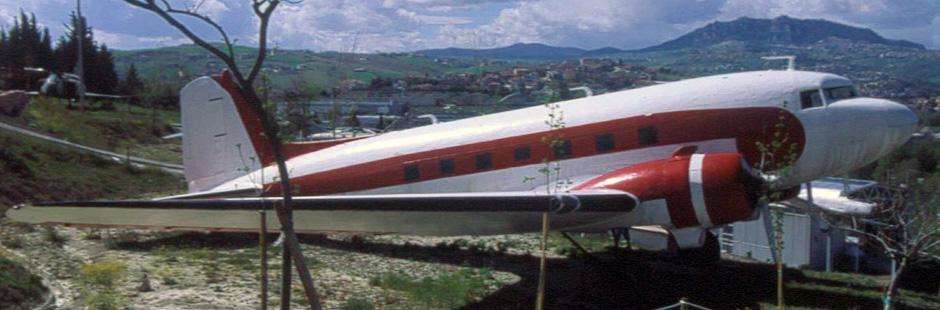 Самолет, Музей авиации в Италии, Римини