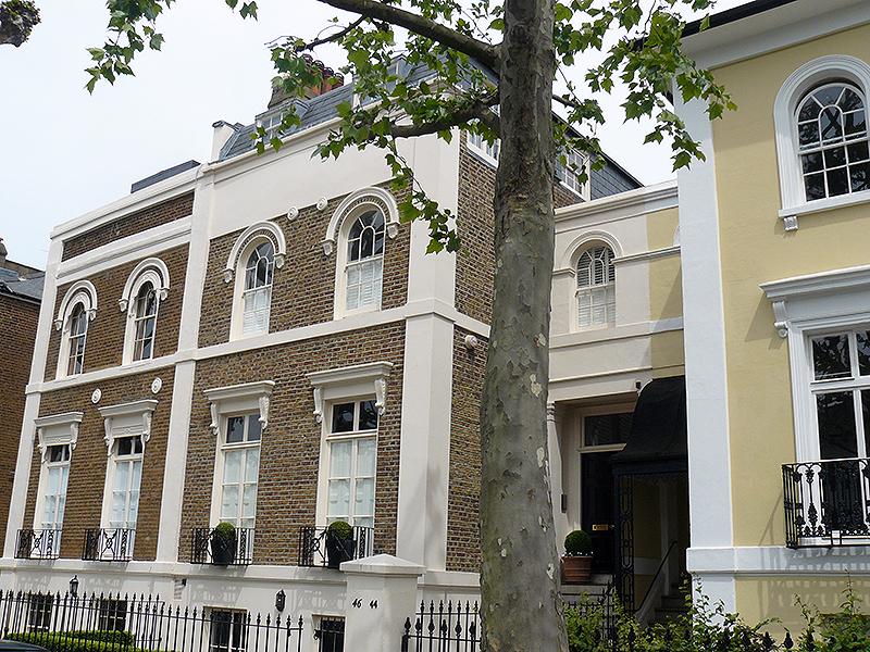 Традиционные лондонские дома, Ноттинг-Хилл, Лондон
