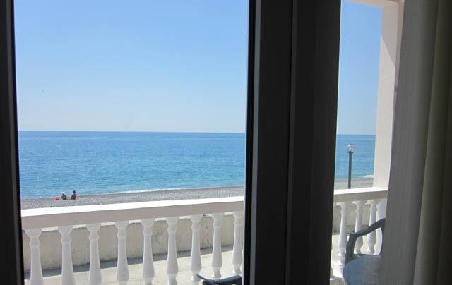 Абхазия пляжа и набережной 64