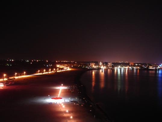 Ночная набережная Сатурна, Румыния
