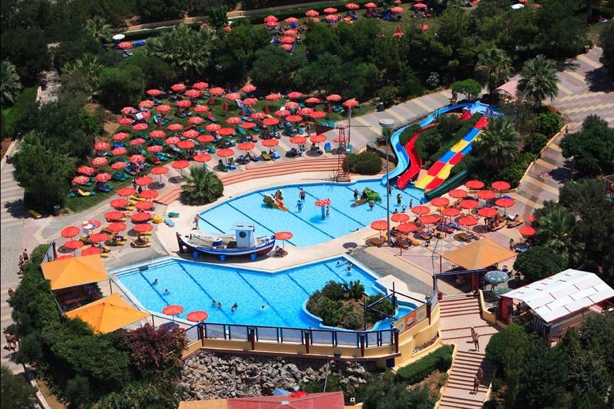 Детские горки, аквапарк Анополиса Watercity, Крит