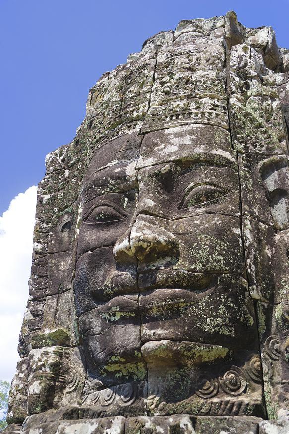 Лик Будды в Храме Ангкора