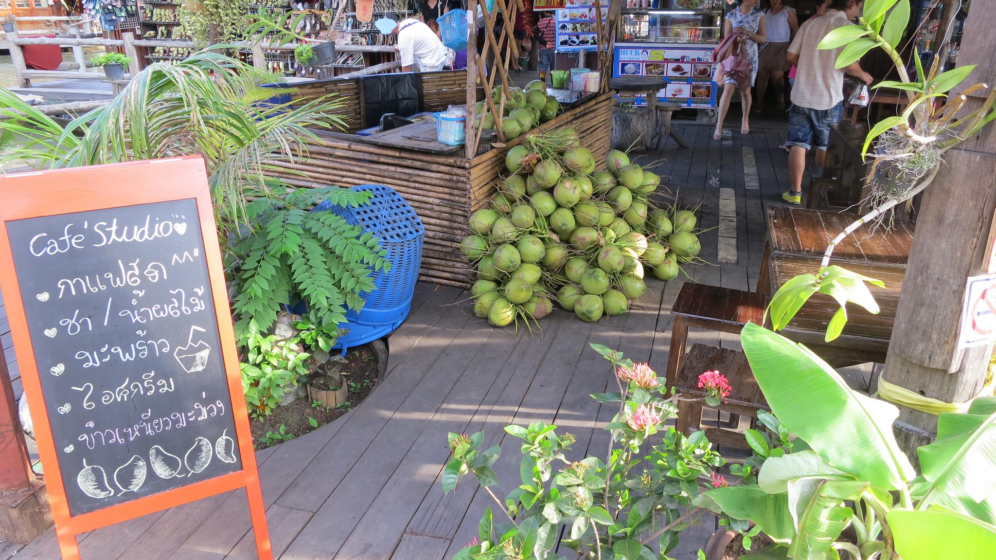 Плавучий рынок в Паттайе, один из магазинов