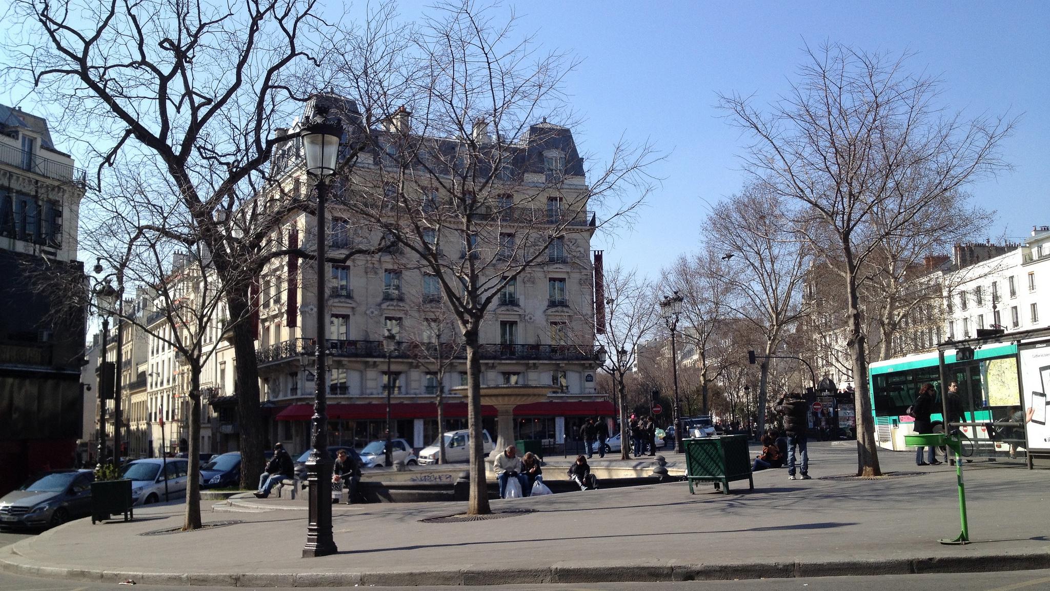 Площадь Пигаль, сквер