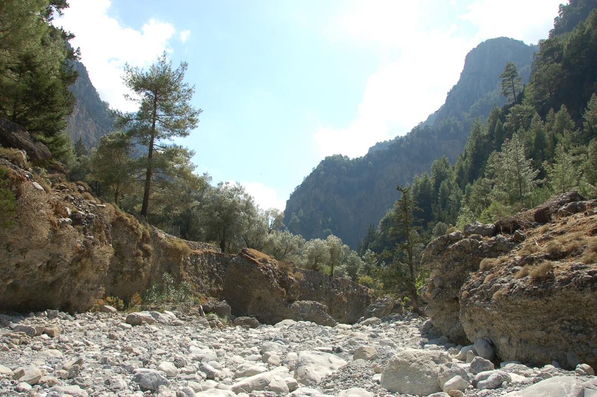 Самарийсое ущелье, Крит