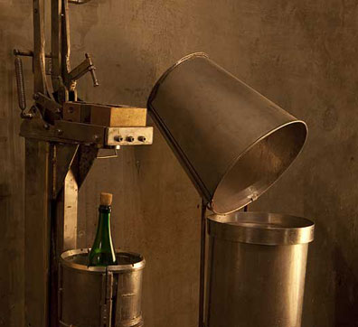 Станок для упаковки, Музей шампанского «Абрау-Дюрсо»