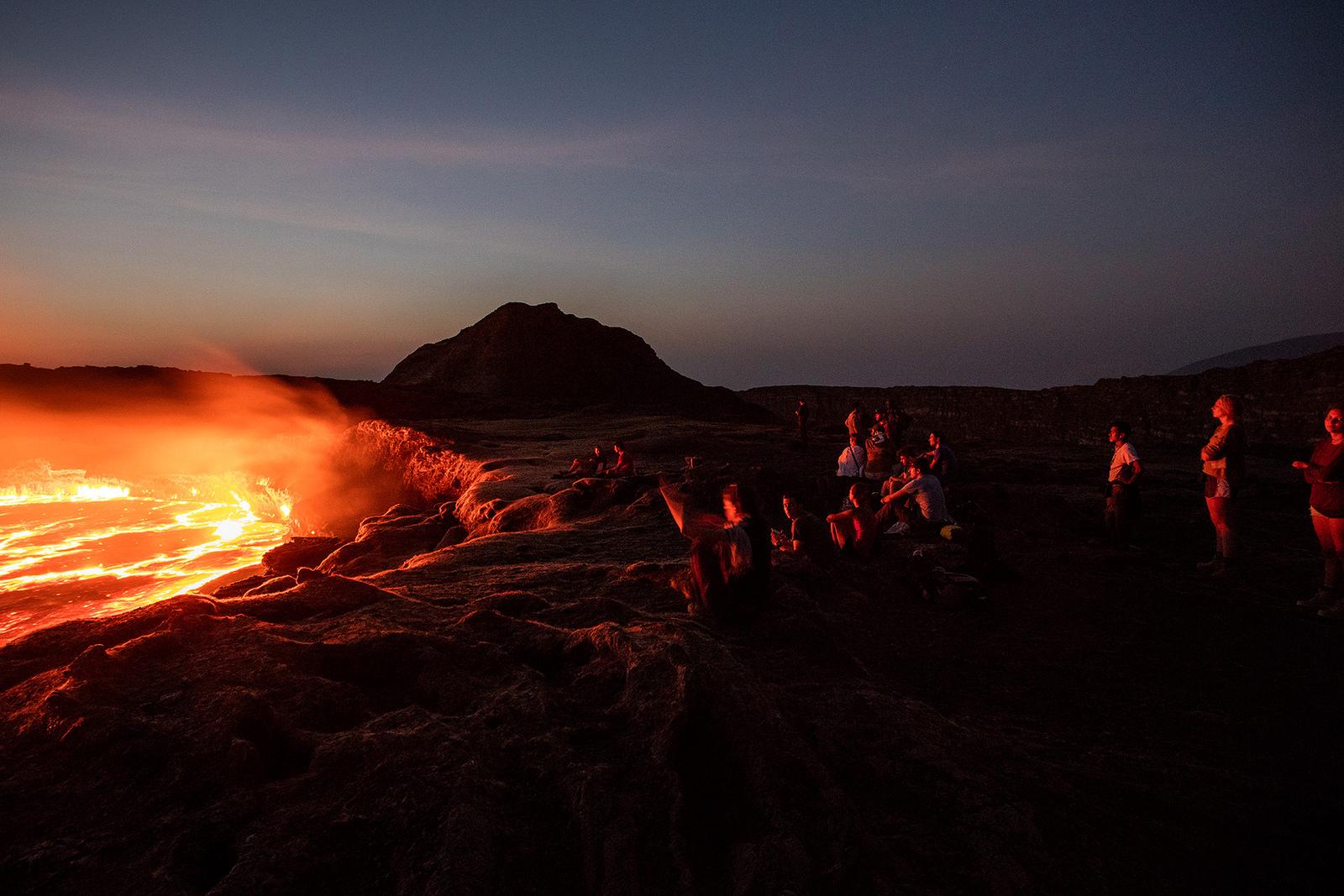 Завораживающее зрелище, Вулкан Эрта-Але, Эфиопия