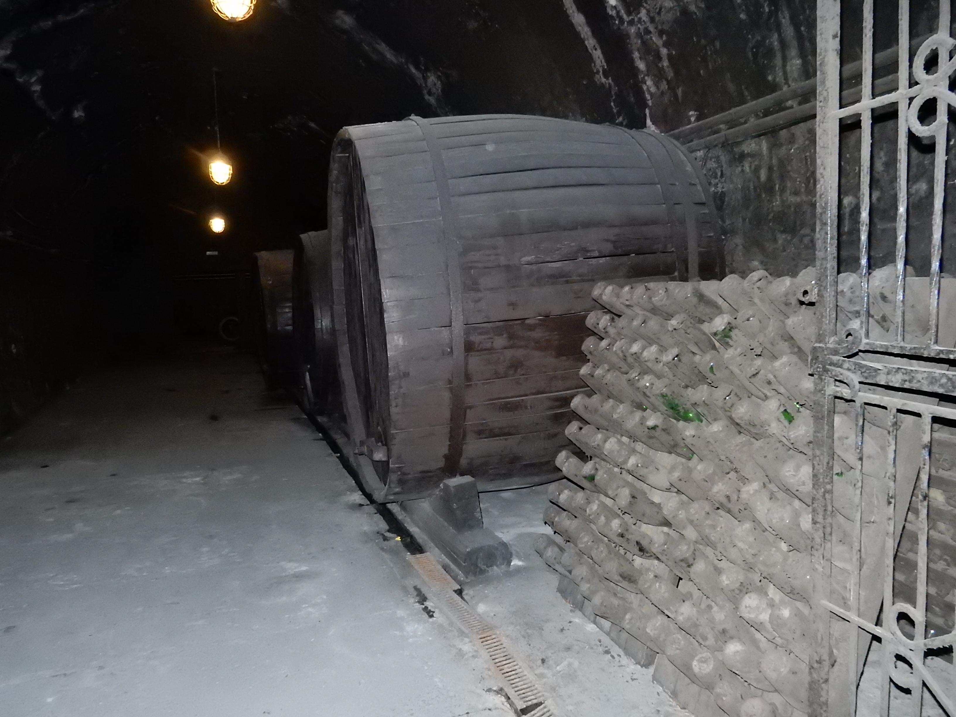 Подвал Завода шампанских вин Абрау-Дюрсо